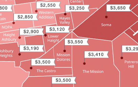 San Francisco Rent Prices Continue Rapid Rise Through February