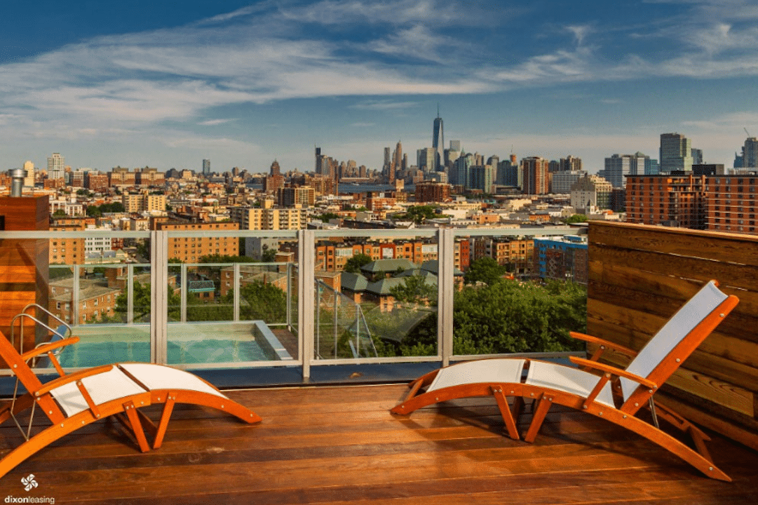 Boasting Not One But Two Balconies This 5 Bedroom Penthouse Offers Luxury Living At A Fraction Of The Price Its Pet Friendly Features Exposed Brick