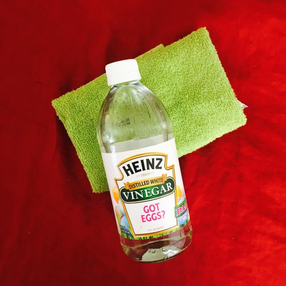 Vinegar As Degreaser