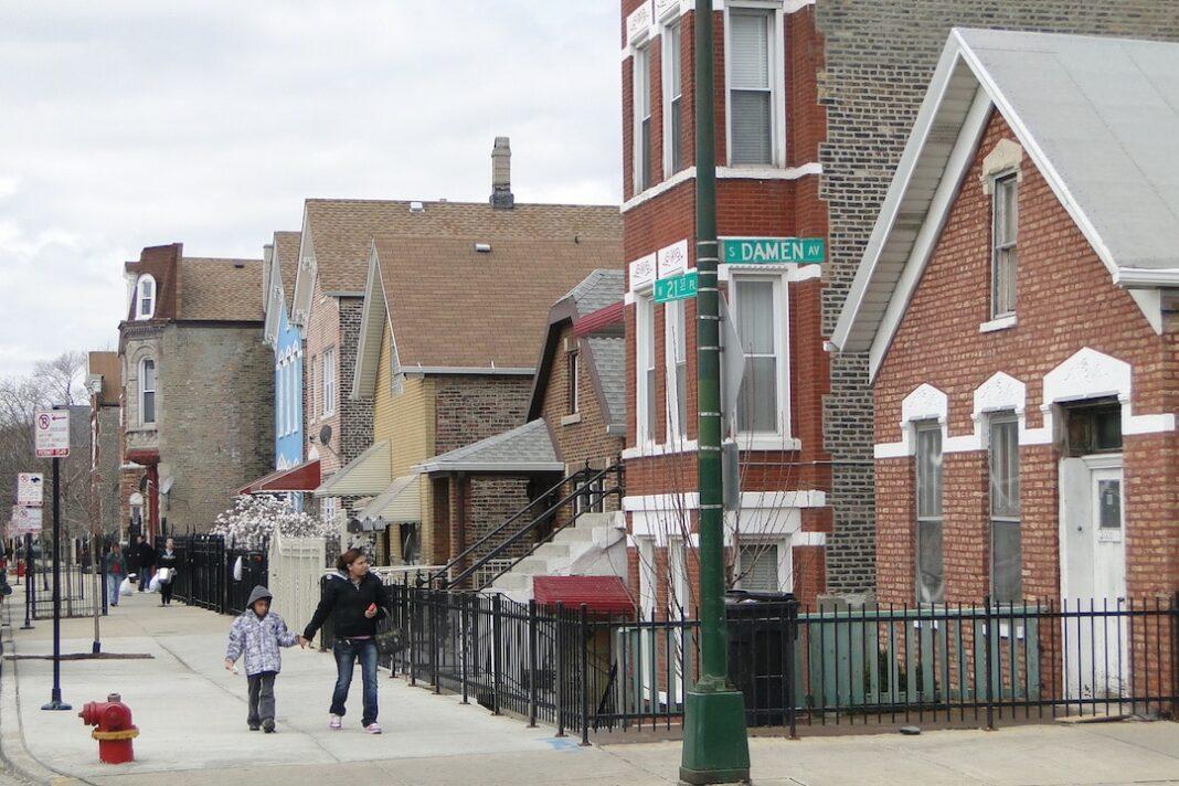 Architecture in Pilsen Neighborhood Chicago