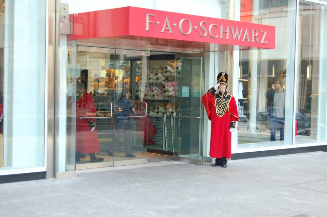 FAO Schwarz Front NYC