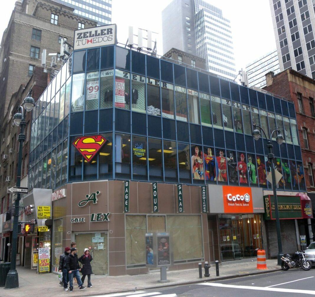 Midtown Comics Grand Central NYC