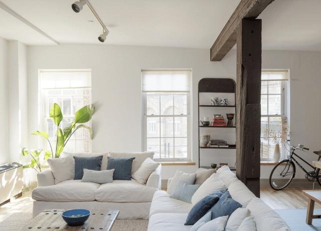 brooklyn apartment living room