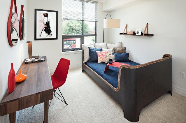 dc apartment bedroom