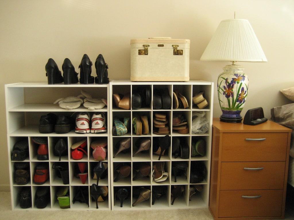 shoe rack 15 Smart Storage Tips For