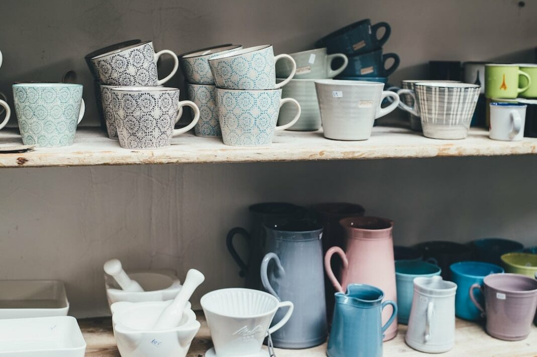 Luckily There Is Usually Room For Open Shelving Where You Can Show Off Your  Cute Coffee Mugs Or Plates While Hiding The Rest Behind ...