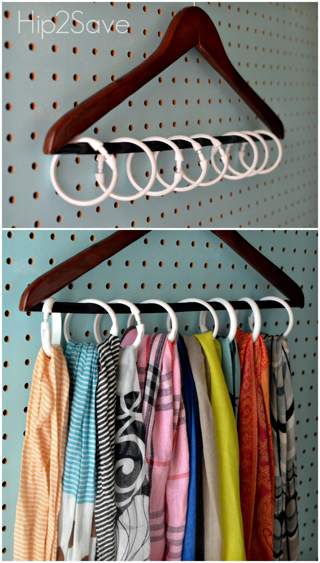 15 smart storage tips for apartment renters shower curtain ring hanger solutioingenieria Images