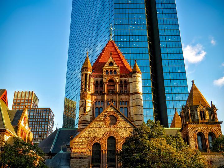 Downtown Buildings In Boston